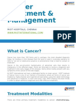 MIOT Cancer Treatment and Management