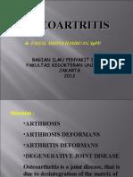 Osteoarthritis Fdh