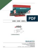 Sulky- X50