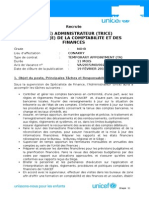 Finance Officer NOB - 19 février 2015