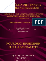 LIVING SINGLE IN A SEX-CRAZED WORLD-FR.ppt
