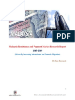 Growth and Outlook Malaysia Remittance and Payment Market, 2019