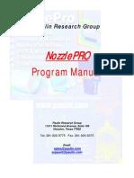 Nozzlepro Manual and Faq