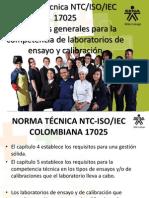 Requisitos de La Norma NTC ISO IEC 17025