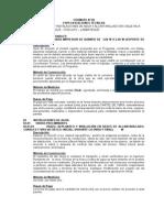 Especificaciones Tecnicas - Agua y Alcantarillado