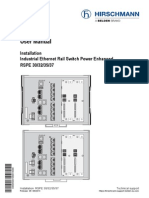 Hirschmann User Manual RSPE-switches