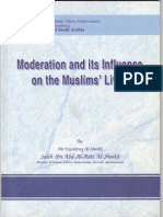 """Moderation and its influence on the Muslims' Lives"" By Shaykh Saalih Ibn `Abd-Al-`Azeez Al-Shaykh"