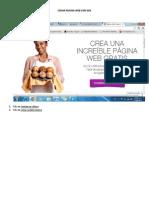 Crear Pagina Web Con Wix