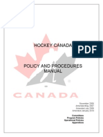 Policy Procedures Manual July 2010 e