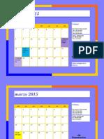 taller calendario #3