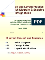 Guide to draw Stick diagrams in VlSI