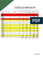 Relatório de Veículos 2015