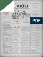 L'Aiòli. - n°343 (Mars 1932)