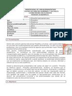 Filosofía Latinoamericana I-2015