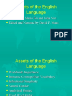 LING-05 Assets and Liabilities of the English Language Prepared by Mario Pei and John Nist Edited by David F. Maas