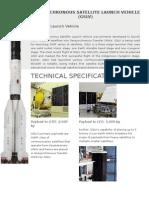 Geosynchronous Satellite Launch Vehicle