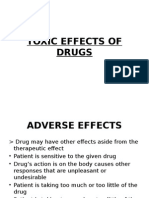 Toxic Effects of Drugs