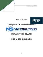 Proyecto Tanques Blindados 250 Y 400 Galones V1.2