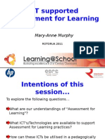 ICT Supported Assessment for Learning.(Final) Pptx