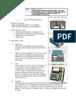 Valley Lab SSE2-3 ESU - Test Procedure