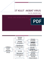 Penyakit Kulit Akibat Virus