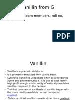 Info About Vanillin Last