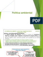 Política Ambiental JPMB