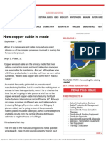 How Copper Cable is Made - Cabling Install