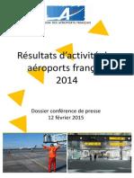 Les résultats des aéroports français