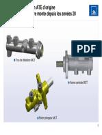 Maître-cylindre de frein ATE d'origine Une qualité de première monte depuis les années 20