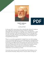 Paul E. Anderson & the Gurdjieff Work