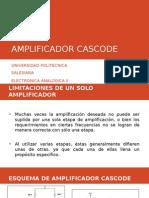 AMPLIFICADOR CASCODE PRESENTACION