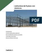 Avanze de Proyecto Estructura