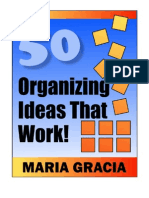 50 Organizing Ideas