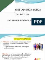 Estadística básica TI22B