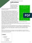 Soccer Positions
