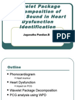 Wavelet Package Decomposition of Heart Sound in Heart Dysfunction Identification