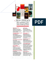 10 Titles That Will Broaden Your Point of View - O Magazine, January 2014