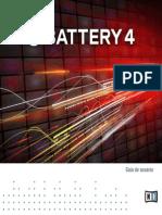 Battery 4 Manual Spanish