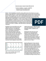 Mineralogia PDF-4  Powder Diffraction File