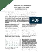 Mineralogia PDF-4  Powder Diffraction File