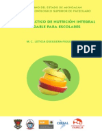 Manual de Nutrición Integral Para Escolares