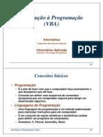 Introdução VBA
