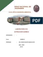 Informe Lab.2 Química II