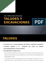 Taludes y Excavaciones