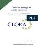 Guide Aide Au Montage Horizon 2020 Version Mars 2014 307293