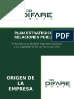 Plan Estrategico de Relaciones Publicas Difare
