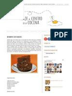 Viaje Al Centro de La Cocina_ Brownie Con Nueces