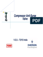 Anti Surge Valves For Copressor