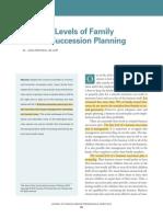 3 Levels of Fam.bus. Succession Planning